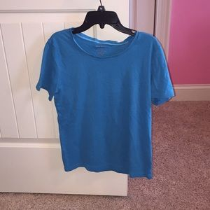 Kids Plain Blue Tee